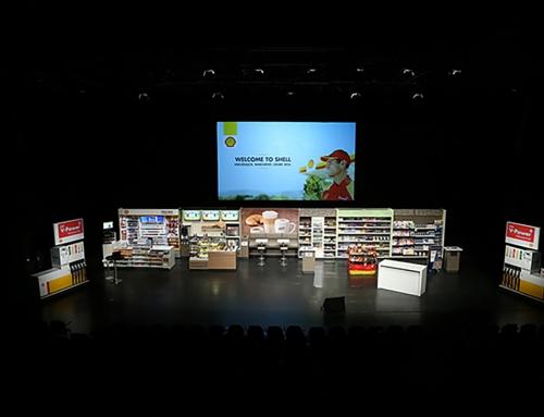 Fotoreportage und FotoBox für Shell in Hamburg